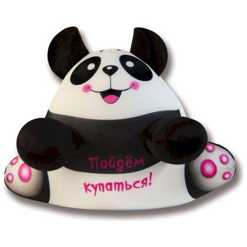 Игрушка для ванной Штучки, к которым тянутся ручки Аква крошки Панда (15аси17ив-3) белый/черный штучки к которым тянутся ручки игрушка для ванной колобашки зайчик