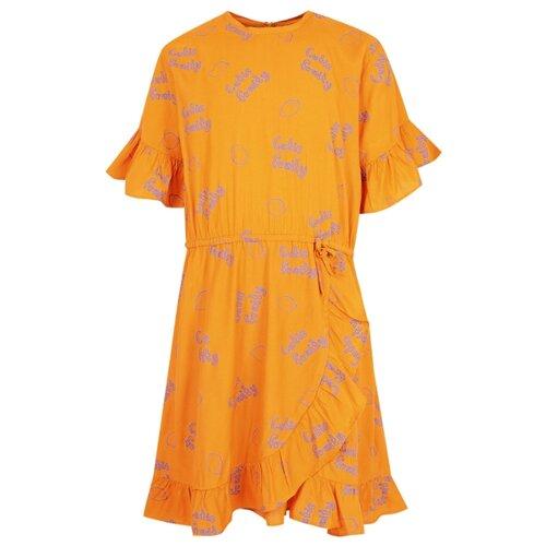 Платье Soft Gallery размер 116, оранжевый