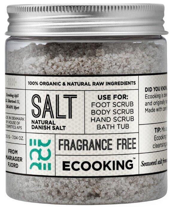 Ecooking Морская соль для ванн, 200 г