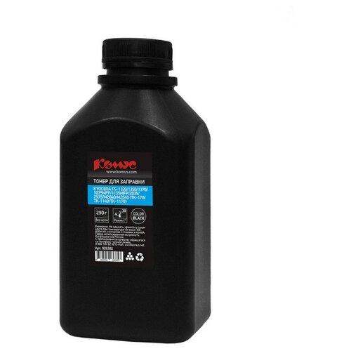 Тонер Комус чёрный для Kyocera (TK-170/TK-130/TK-1140/TK-1170/1160) (290 г)