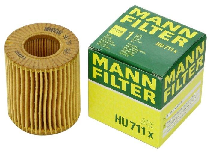 Фильтрующий элемент MANNFILTER HU711X