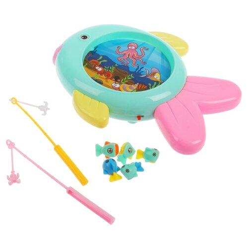 Рыбалка Guang Teng Toys ABC-204 мятный/желтый/розовый- преимущества, отзывы, как заказать товар за 545 руб. Бренд Guang Teng Toys
