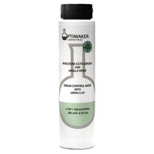 Купить Optima Маска себорегулирующая для жирных волос Maschera Cute Grassa, 200 мл