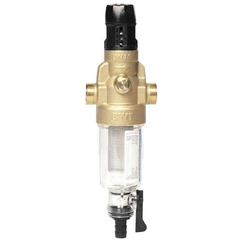 цена на Фильтр механической очистки BWT Protector Mini C/R HWS муфтовый (НР/НР), со сливом медный Ду 15 (1/2