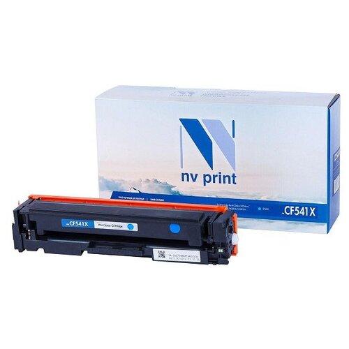 Картридж NV Print CF541X Cyan для HP, совместимый картридж nv print cf411a для hp совместимый