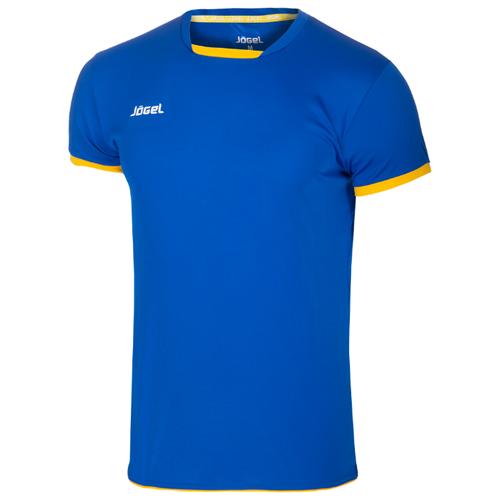 Купить Футболка Jögel размер XS, синий/желтый, Футболки и топы
