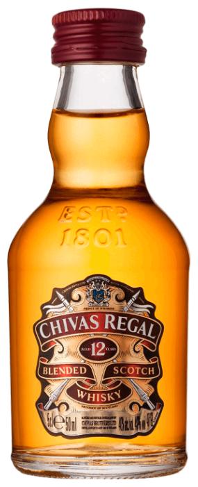 Виски Chivas Regal Blend 12 лет, 0.05 л