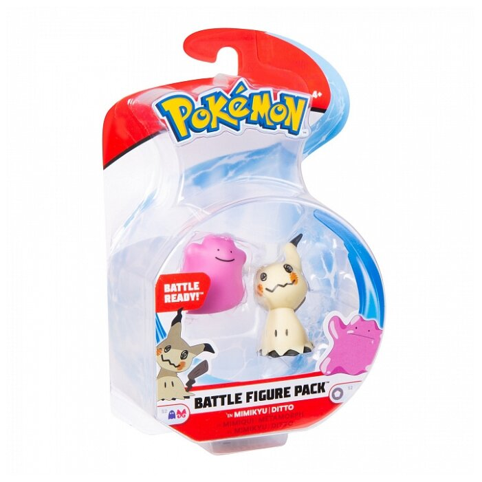 Фигурки РОСМЭН Pokemon Мимикью и Дитто 36696