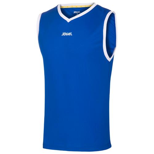 Майка Jogel JBT-1020 размер YS, синий/белый, Футболки и топы  - купить со скидкой