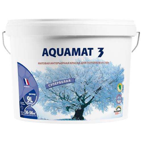 Краска акриловая Pragmatic Aquamat 3 5100BR91 матовая 036 9 л 14 кг