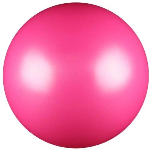 цена Мяч для художественной гимнастики Indigo AB2803 фуксия онлайн в 2017 году