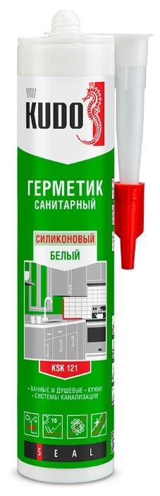 Герметик KUDO KSK санитарный 280 мл.