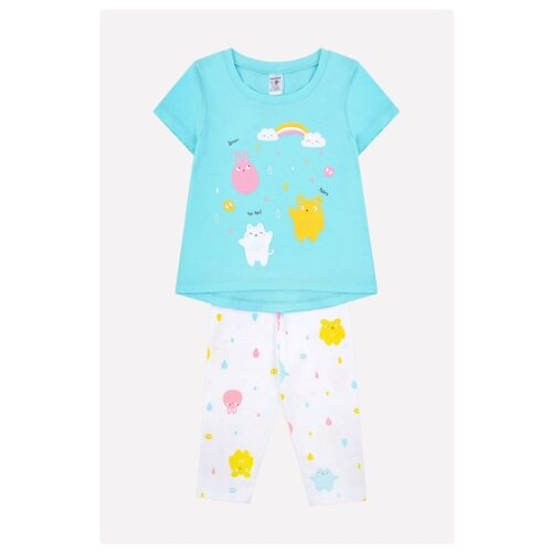 Пижама crockid размер 86, аквамарин пижама crockid размер 104 аквамарин