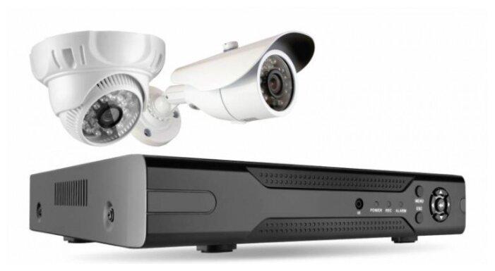 Комплект видеонаблюдения Ginzzu HK-420D 2 камеры