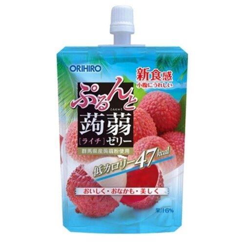 Желе Orihiro из конняку питьевое Личи 0%, 130 г