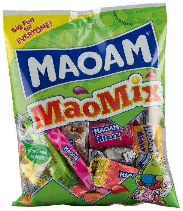 Жевательные конфеты Maoam MaoMix со вкусом фруктов и колы 250 г
