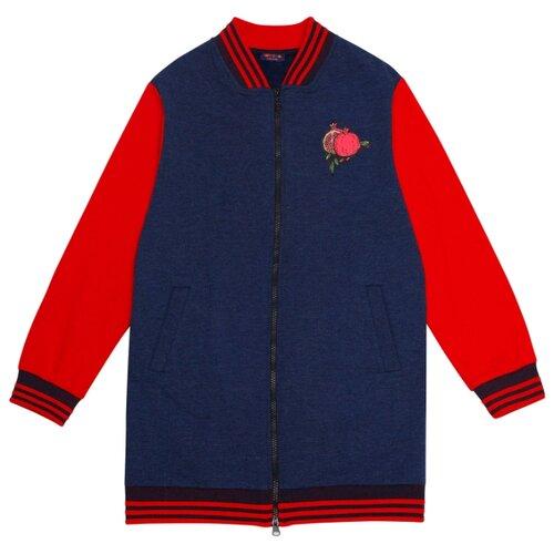 Куртка Chinzari Кипр 40208087/11 размер 140/146, темно-синий меланж олимпийка chinzari размер 140 146 темно синий меланж