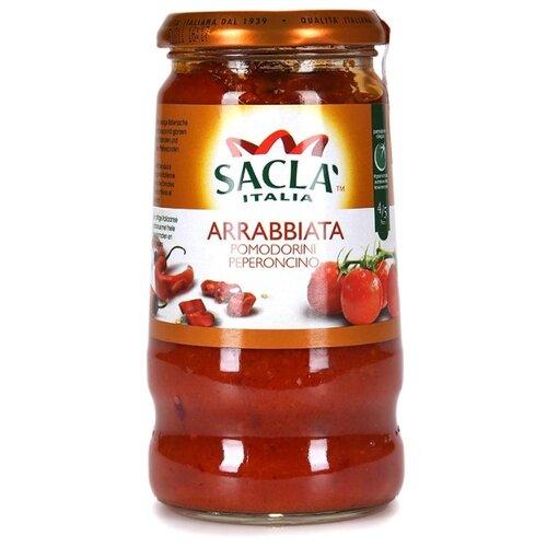 Соус Sacla C цельными томатами Черри и перцем чили Arrabbiata, 420 г- преимущества, отзывы, как заказать товар за 344 руб. Бренд Sacla