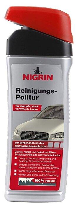 NIGRIN полироль для кузова Reinigungs-Politur, 0.5 л
