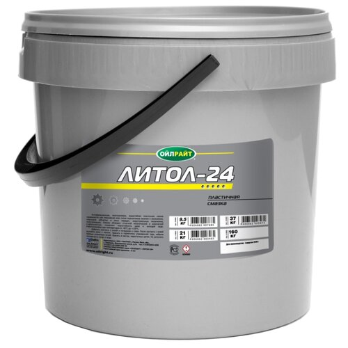 Автомобильная смазка OILRIGHT Литол-24 9.5 кг