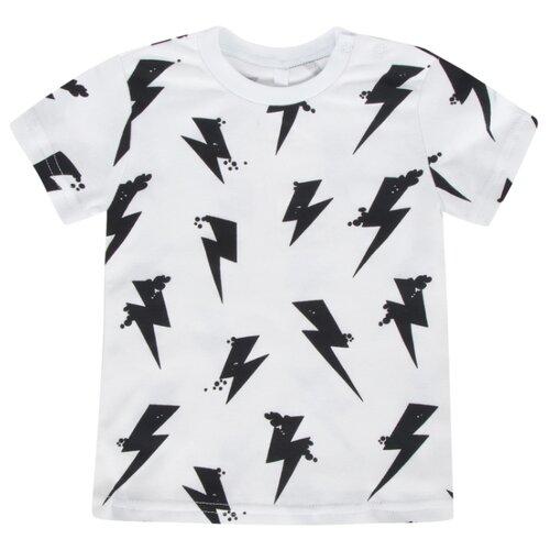Купить Футболка Leader Kids размер 92, белый, Футболки и рубашки