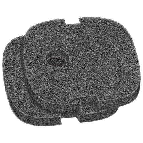 Sera картридж Filter Sponge Black для Fil Bioactive 130 и 130+УФ (комплект: 2 шт.) черный ротор для фильтра sera fil bioactive 130 и 130 uv 1 шт