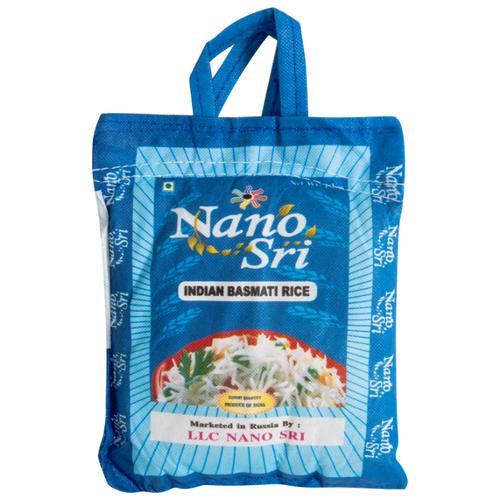Рис Nano Sri Басмати нешлифованный, 1 кг