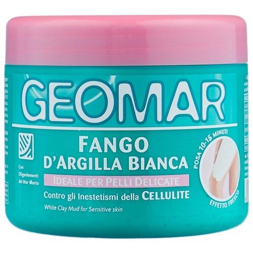 Geomar грязь антицеллюлитная Белая глина для чувствительной кожи 500 мл