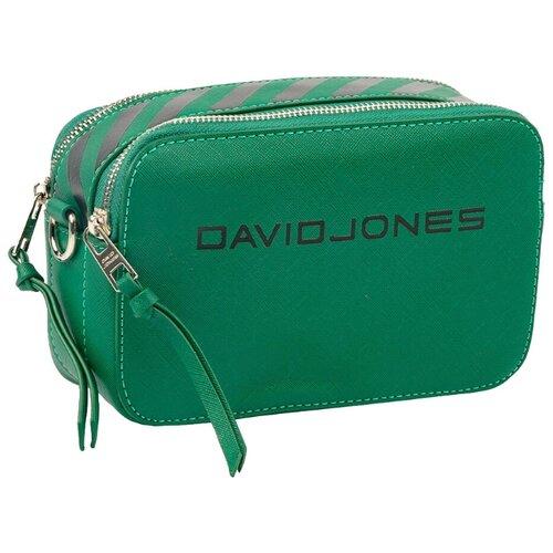 Сумка кросс-боди DAVID JONES 6169-1, искусственная кожа, green