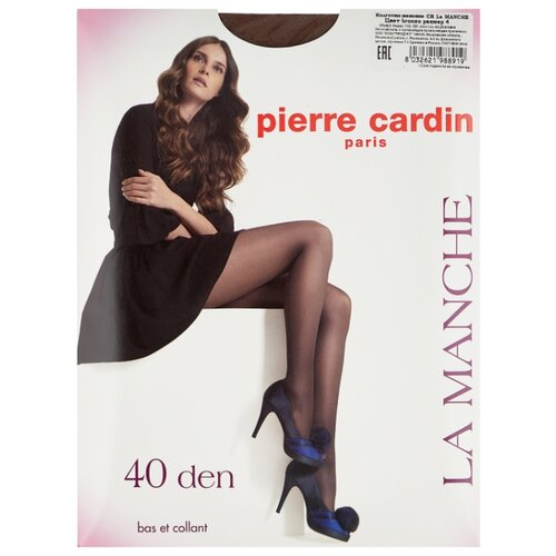 Колготки Pierre Cardin La Manche, Basic Line 40 den, размер IV-L, bronzo (коричневый)