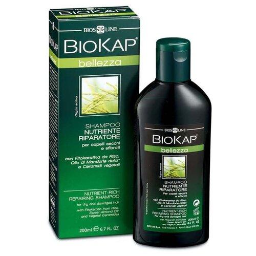 BioKap шампунь Nutriente Riparatore питательный, восстанавливающий 200 мл легкий питательный бальзам avene trixera nutrition 200 мл