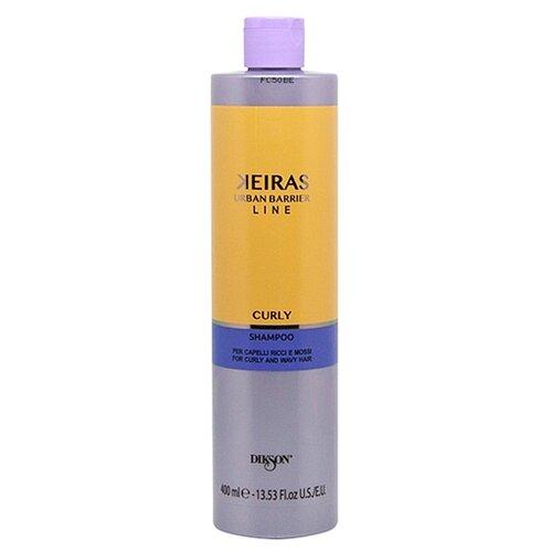 Dikson шампунь Keiras Urban Barrier Line Curly улажняющий для вьющихся волос 400 мл