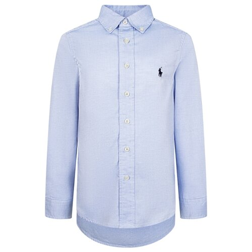 Рубашка Ralph Lauren размер 175, голубой