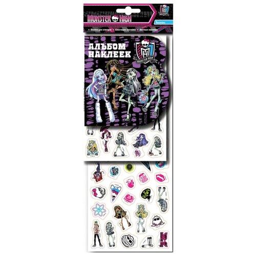 Купить РОСМЭН Набор наклеек Monster High (20821), Наклейки