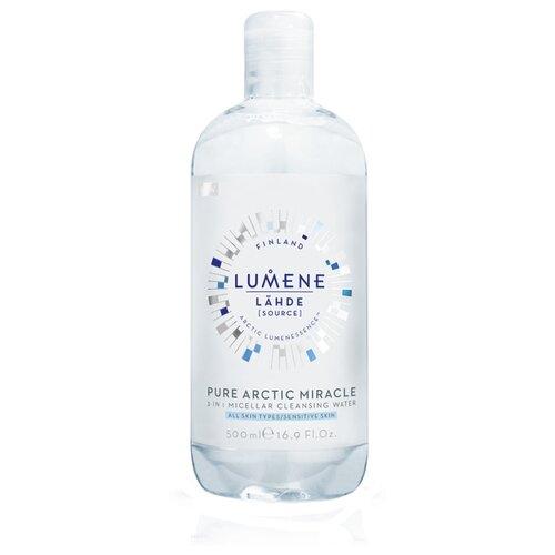 Lumene мицеллярная вода 3 в 1 Lähde, 500 мл мицеллярная вода lumene lumene lu021luyxp33