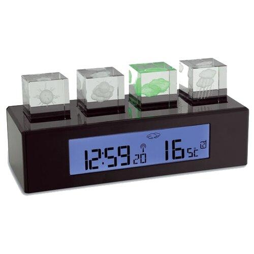 Метеостанция TFA 35.1110 Crystal Cube черный