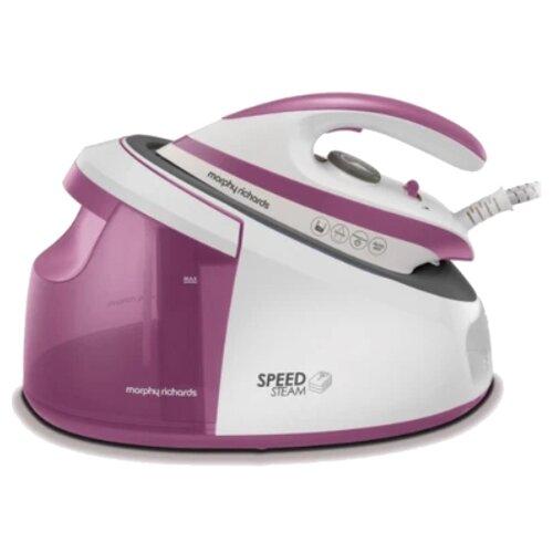 Парогенератор Morphy Richards 333201 фиолетовый/белый тостер morphy richards 222017 белый розовое золото