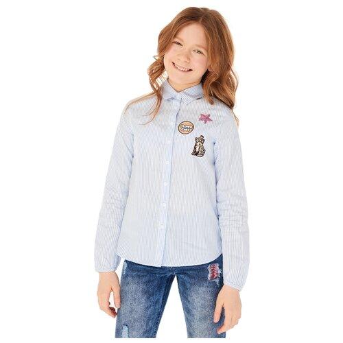 Рубашка INFUNT размер 140, синийРубашки и блузы<br>