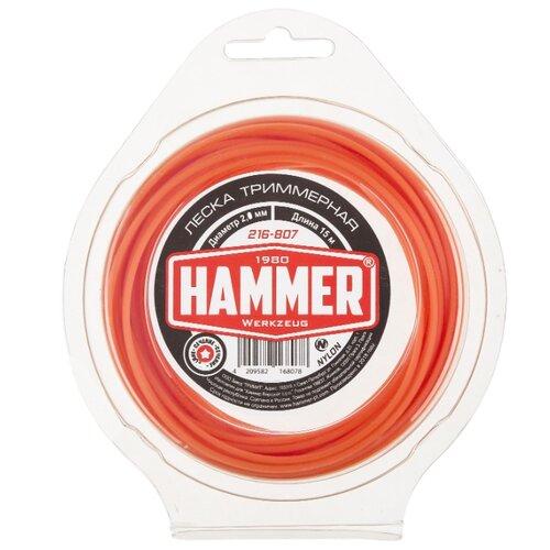 Леска Hammer 216-807 2 мм 15 м