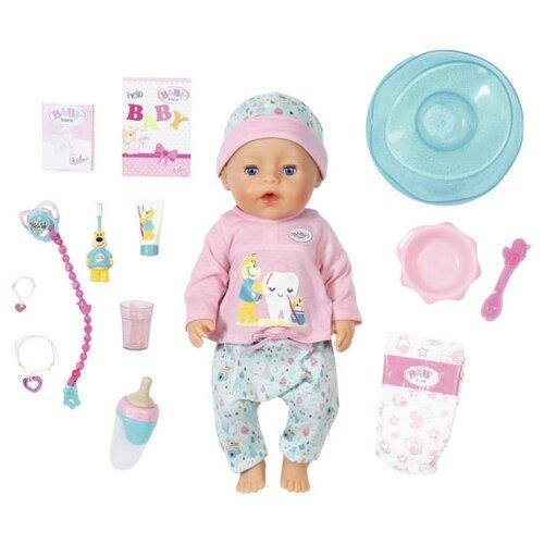 Фото - Интерактивная кукла Zapf Creation Baby Born Bath Soft Touch Girl 43 см 827-086 интерактивная кукла zapf creation baby born 43 см 825 938