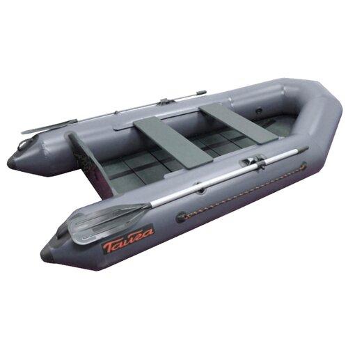Надувная лодка Leader Тайга Т-270 NEW серый надувная лодка leader компакт 200 зеленый