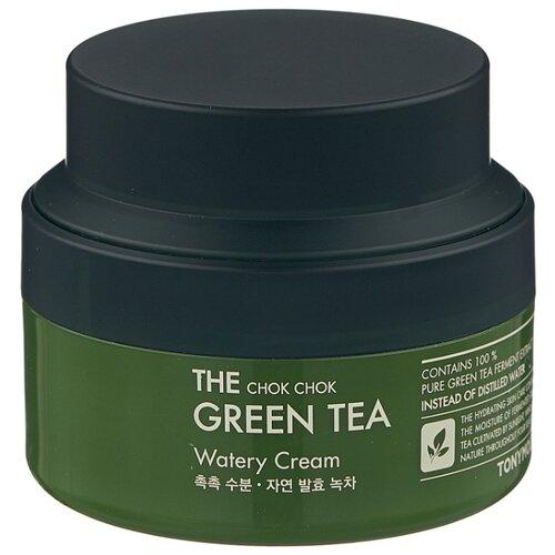 TONY MOLY The Chok Chok Green Tea Watery Cream Увлажняющий крем для лица, 60 мл недорого
