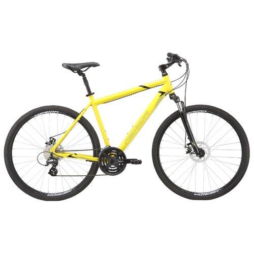 Горный гибрид Merida Crossway 15-MD (2020) yellow/silver S/M (требует финальной сборки) велосипед merida crossway 20 md 2013