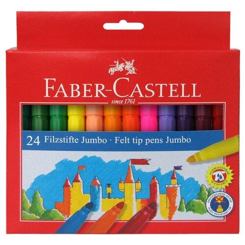 Купить Faber-Castell Набор фломастеров Jumbo, 24 шт. (554324), Фломастеры