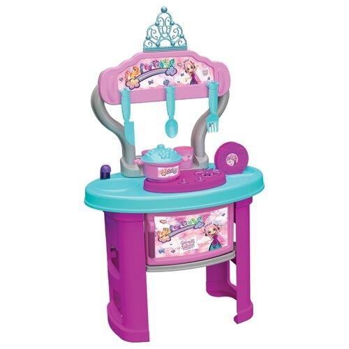 Купить Кухня Terides Принцесса и Единорог Т3-125 голубой/розовый, Детские кухни и бытовая техника