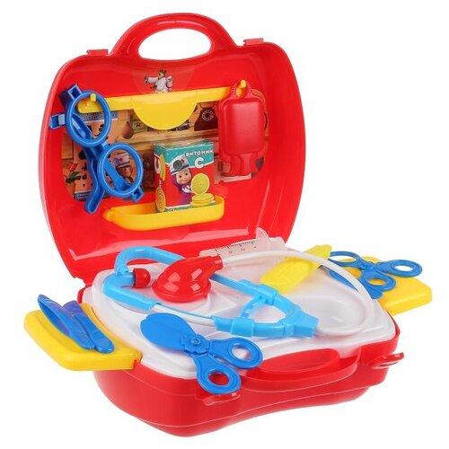 Купить Набор доктора Играем вместе Маша и Медведь в чемодане (B1697430-R), Играем в доктора