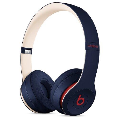 Беспроводные наушники Beats Solo3 Wireless темно-синий цена 2017