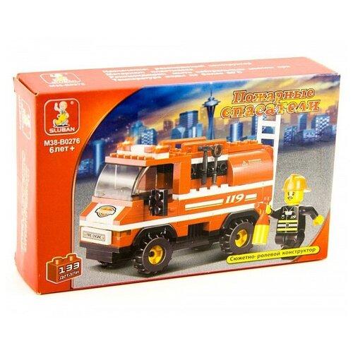 цена на Конструктор SLUBAN Пожарные спасатели M38-B0276
