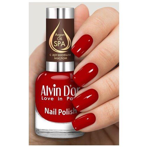 Лак Alvin Dor SPA Argan Oil, 15 мл, оттенок 5025