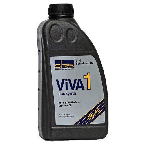 Синтетическое моторное масло SRS VIVA 1 Ecosynth 0W40 1 л минеральное моторное масло srs multi rekord top 15w40 1 л
